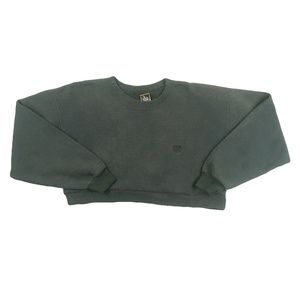 Vintage 90s USA Olympics Crop Top Sweatshirt S M L
